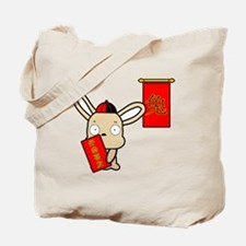 Year-of-the-Rabbit Tote Bag