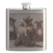 five boxers16x16 Flask