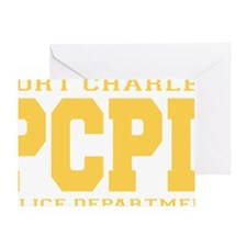 PCPD yellow Greeting Card