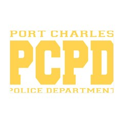 PCPD yellow Wall Decal