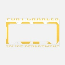 PCPD yellow License Plate Holder