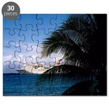 Carnival docked at Grand Cayman11x11 Puzzle