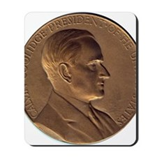 Coolidge-medal Mousepad