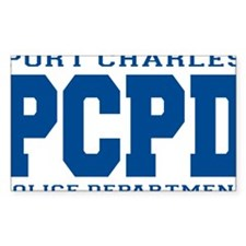 PCPD blue Decal