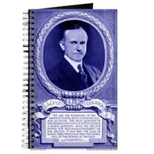 Coolidge-quote-card-blue Journal
