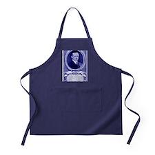 Coolidge-quote-card-blue Apron (dark)