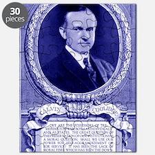 Coolidge-quote-card-blue Puzzle