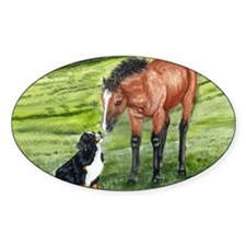 berner w horse Decal