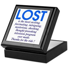 303b-lost-is Keepsake Box