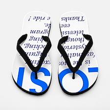 303b-lost-is Flip Flops