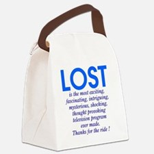 303b-lost-is Canvas Lunch Bag