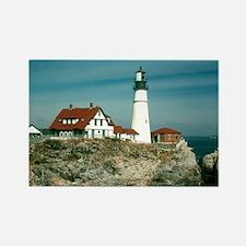 Portland head lighthouse Rectangle Magnet