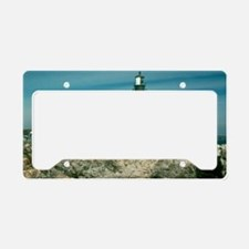 Portland head lighthouse License Plate Holder