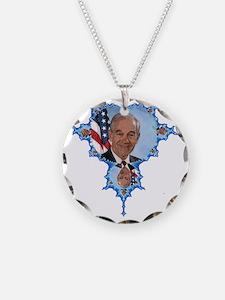 Ron Paul Fractal Necklace