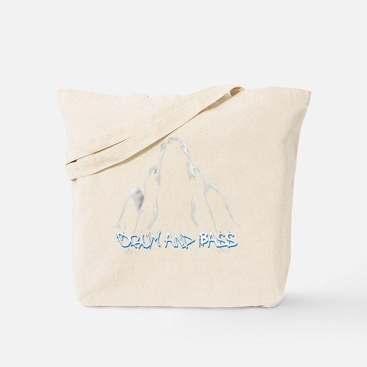DnB Graffiti Girl Tote Bag