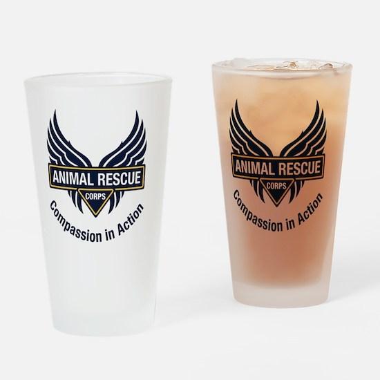 ARC_logo_dk_blue_tagline_RGB Drinking Glass