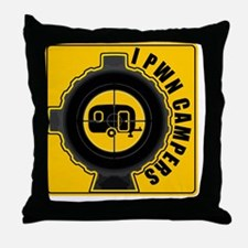 pwncampers Throw Pillow