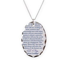 persiostence-quote Necklace