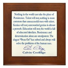 persiostence-quote=square Framed Tile
