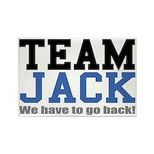 team-jack Rectangle Magnet