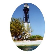 Hillsboro Inlet Lighthouse Oval Ornament
