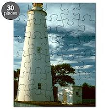 Ocracoke Lighthouse NC Puzzle