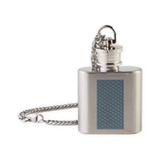 bubblewrap unpopped 545 Flask Necklace