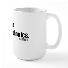 sawyer-quote-phonics Mug