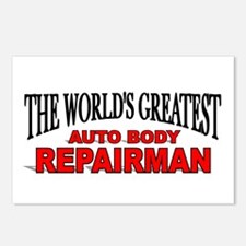 """The World's Greatest Auto Body Repairman"" Postcar"