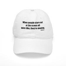 hurley-quote-quiet Baseball Cap