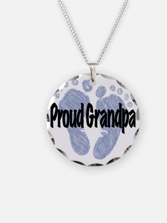 Proud Grandpa (Boy!) Necklace