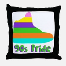 90s_pride Throw Pillow
