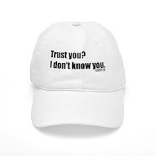 sawyer-quote-trust Baseball Cap