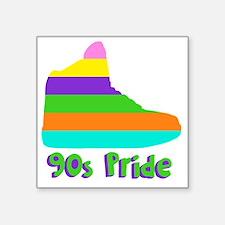 """90s_pride Square Sticker 3"""" x 3"""""""