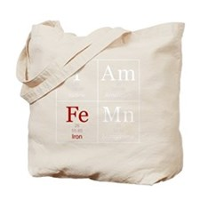 IAmFeMnFlatWhite Tote Bag