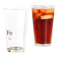 IAmFeMnFlatWhite Drinking Glass