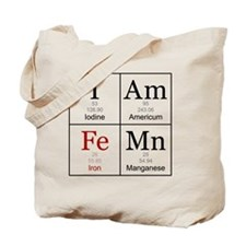 IAmFeMnFlat Tote Bag