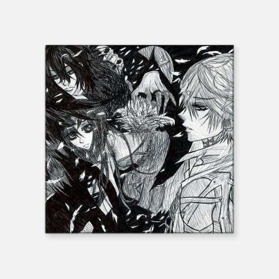 "Vampire Knight Square Sticker 3"" x 3"""