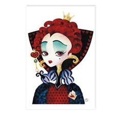 Queen of Hearts Postcards (Package of 8)