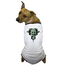 Gandhi Fractal Dog T-Shirt