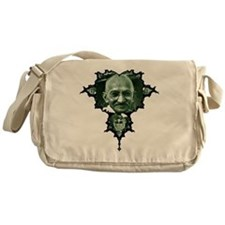 Gandhi Fractal Messenger Bag