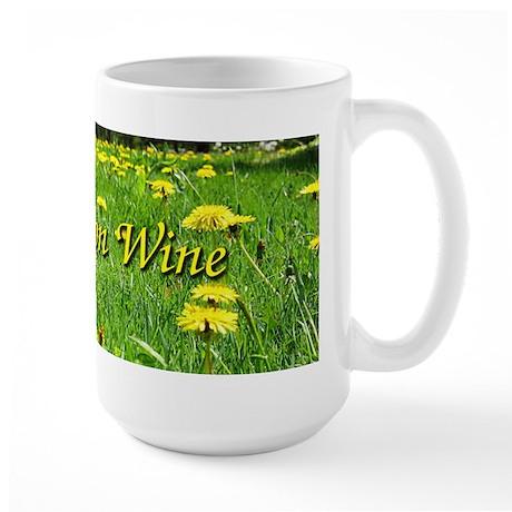 Dandelion Wine Large Mug 1