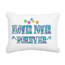 Flowerpower Rectangular Canvas Pillow
