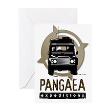 PangaeaDefenderLogo Greeting Card
