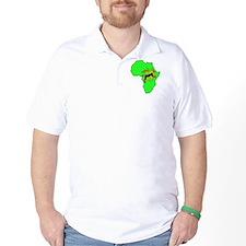 Green Africa Lion T-Shirt