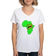 Green Africa Lion Shirt