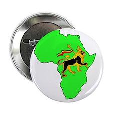 """Green Africa Lion 2.25"""" Button"""