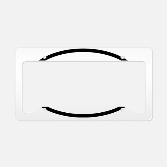 got-discs-oval License Plate Holder