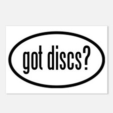 got-discs-oval Postcards (Package of 8)