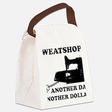 sweatshop Canvas Lunch Bag